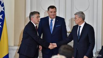 Das Präsidium von Bosnien und Herzegowina (klix)