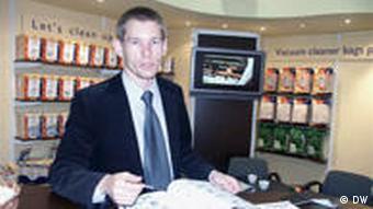 Mariusz Cierzniak z firmy K&M