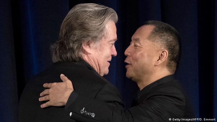 Guo Wengui und Steve Bannon