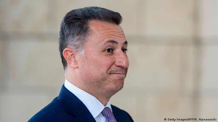 Mazedonien Nikola Gruevski Ex-Premierminister