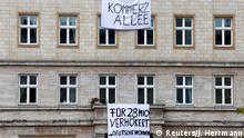 Berlin: Proteste gegen Mieterhöhung