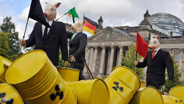 Anti-Atomkraft-Demonstration in Berlin am 5. September 2009