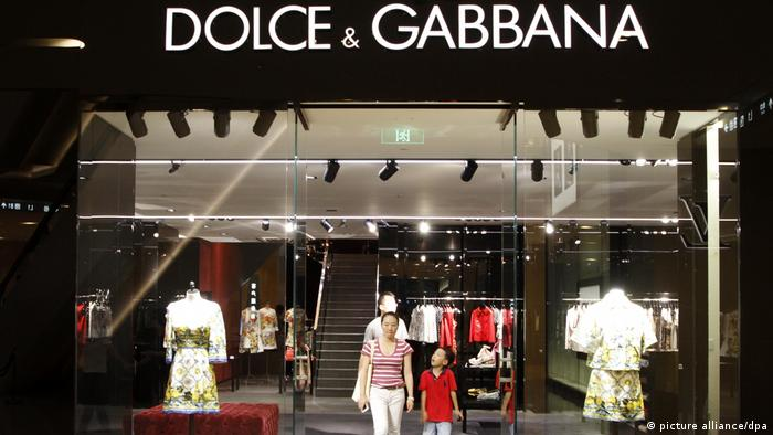 China, Nanjing: Dolce & Gabbana unter Beschuss für stereotypische China-Werbekampagne (picture alliance/dpa)