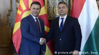 Ungarn 2015 Nikola Gruevski, Premierminister Mazedonien & Viktor Orban