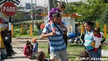 Kolumbien venezolanische Flüchtlinge in Bogotá
