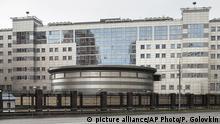 Russland - Hauptquartier des Militärnachrichtendienstes Russlands in Moskau