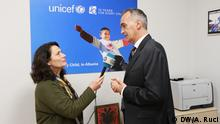 Roberto De Bernardi, UNICEF Representative in Albania in DW interview