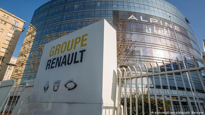 Renault headquarters in Paris, France (picture-alliance/abaca/N. Berzane)
