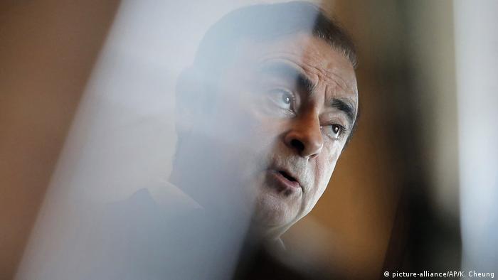 Renault-Nissan Chef Carlos Ghosn