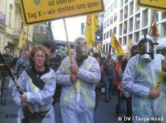 Militants anti-nucléaire le 5 septembre à Berlin