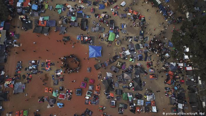 Tijuana migrant camp