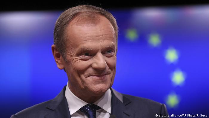 Donald Tusk (picture-alliance/AP Photo/F. Seco)