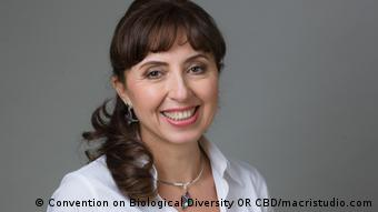 Cristiana Pasca, executive director of the Convention on Biological Diversity