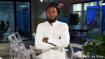 Mosambik Edson Mahotas (DW/R. da Silva)