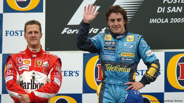 F1 GP von San Marino | Schumacher und Alonso