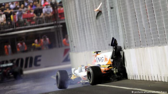Formel 1 2008 - GP Singapur | Nelson Piquet Jr.