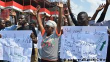 Political crisis in Democratic Republic of the Congo Demonstration Lucha