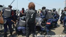 Democratic Republic of the Congo Demonstration in Goma Kongo Lucha