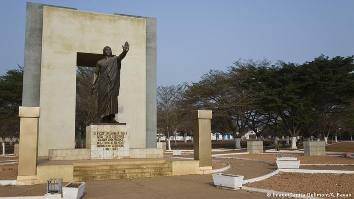 Monument des Königs Glele von Dahomey, Benin