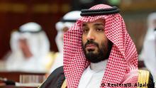 Saudi-Arabien Prinz Mohammed Bin Salman