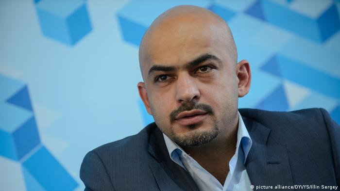 Ukrainischer Journalist und Politiker Mustafa Nayem (picture alliance/DYVYS/Illin Sergey)