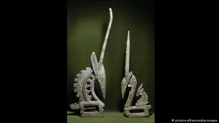 Masken 'Tyiwara' aus Ségou (picture-alliance/akg-images)