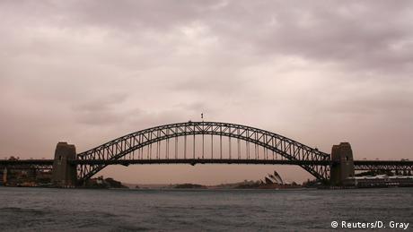 Australien Sandsturm über Sydney