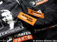 کارزار تبلیغات انتخاباتی حزب دزدان دریایی در آلمان