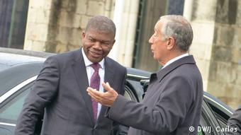 Portugal Staatsbesuch angolanischer Präsident Joao Lourenco (DW/J. Carlos)