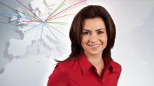 DW Economía (Wirtschaft spanisch) Moderatorin Cristina Cubas (Teaser)