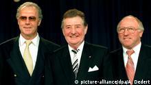 Deutschland 1995 Ehrenspielführer Nationalmannschaft | Franz Beckenbauer, Fritz Walter & Uwe Seeler