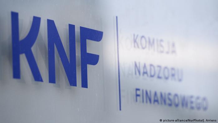 Polen Nationale Kommission für Finanzkontrolle KNF (picture-alliance/NurPhoto/J. Arriens)