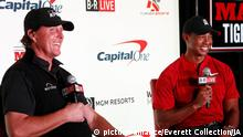 Shadow Creek Golf-Duell   Tiger Woods und Phil Mickelson