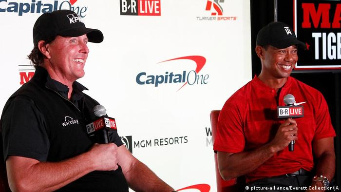 b1f1a324d270b The Match  Tiger Woods and Phil Mickelson tee off for huge payday ...