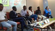 Titel: DW promotes event to discuss future of Angola's youth Was zu sehen ist: Key-note speakers Wann und wo: Luanda, Angola/ 22nd November 2018 Copyright: Manuel Luamba – DW