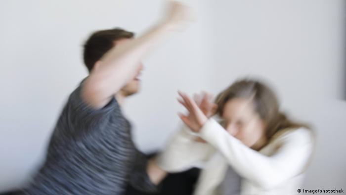Домашнее насилие - символическое изображение