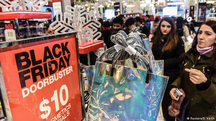 USA Black Friday in New York