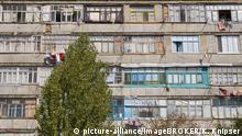 Ukraine Wohnhaus im Badeort Sergejewka