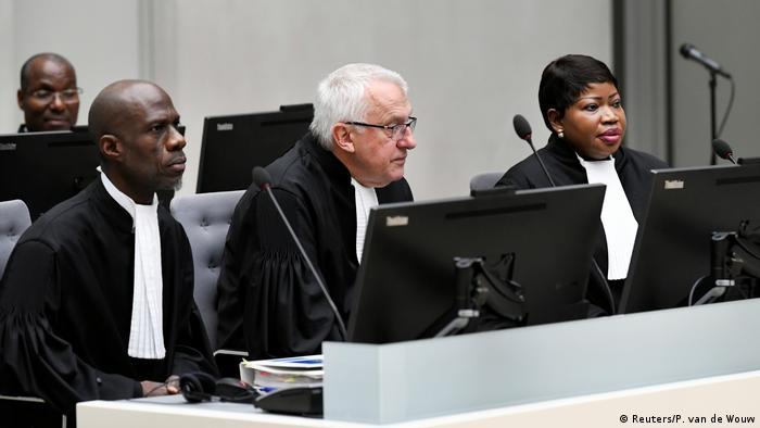 Niederlanden - Den Haag - Prozess Kriegsverbrechen - Alfred Yekatom (Reuters/P. van de Wouw)
