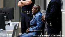 Niederlanden - Den Haag - Prozess Kriegsverbrechen - Alfred Yekatom