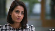 Sineb El Masra deutsche Autorin und Journalistin im DW Interview