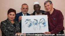 Verleihung Alternativer Nobelpreis Preisträger