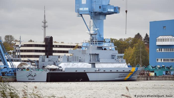 Deutschland Rüstungsexporte Patrouillenboote für Saudi-Arabien