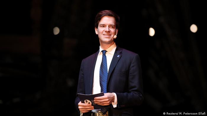 Verleihung Alternativer Nobelpreis Preisträger Ole von Uexkul (Reuters/ M. Petersson Ellafi)