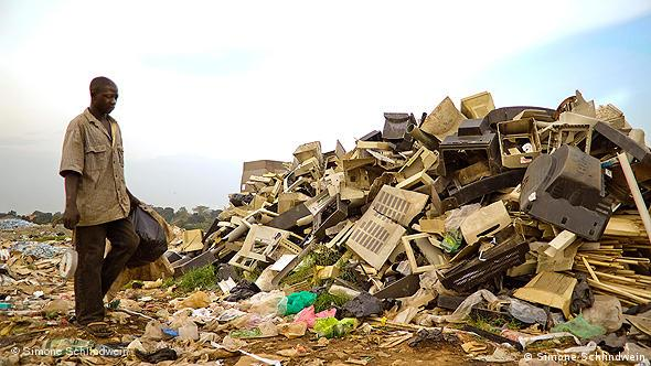 Električni otpad u Ugandi
