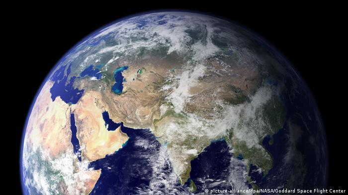 Klimawandel | Symbolbild | Erdkugel (picture-alliance/dpa/NASA/Goddard Space Flight Center)