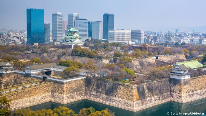 The skyline of Osaka city in Japan (Getty Images/UIG/Dukas)