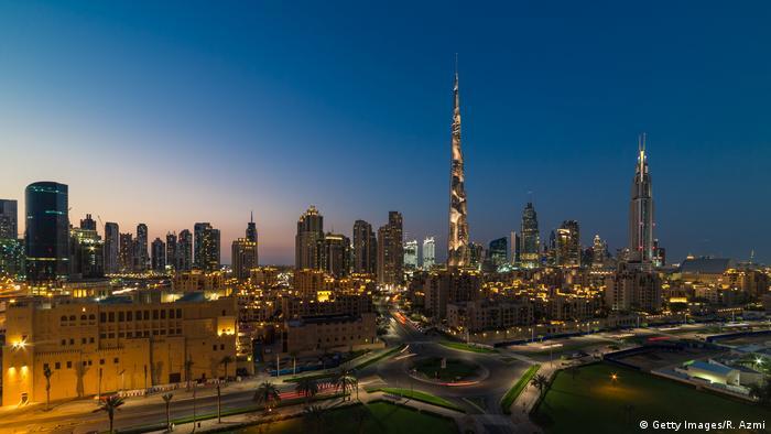 Dubai's skyline