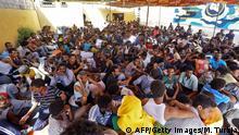 Geflüchtete in Libyen