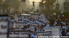 Proteste gegen Freilassung von Asia Bibi in Pakistan